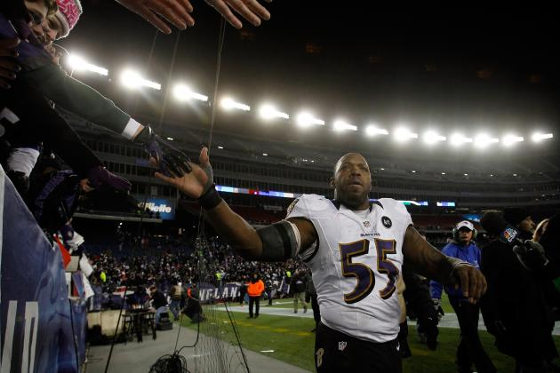Terrell Suggs Taunts Patriots, Then Shows Respect, and Other AFC East News