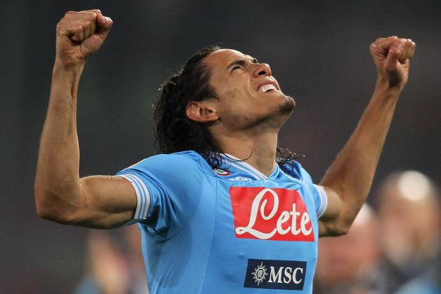Cavani Puts Napoli Above Goals