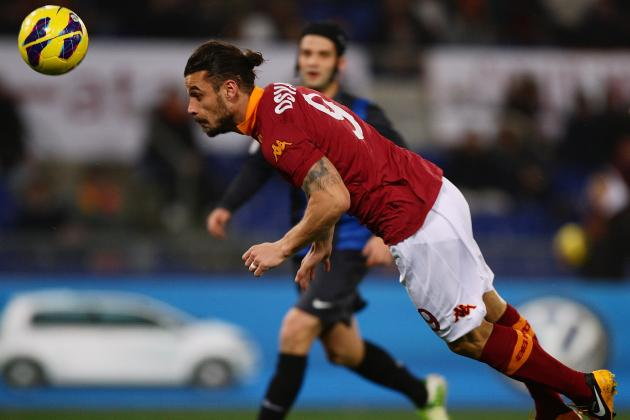 Roma's Stuttering Form Continues Against Scrappy Inter Milan