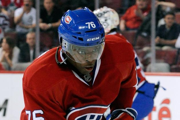 Subban Negotiations Hitting Wall