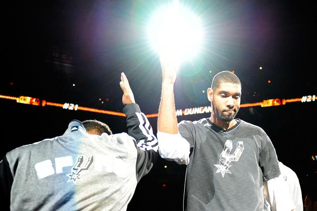 Duncan Well-Rested for Game in Tough Venue for Spurs