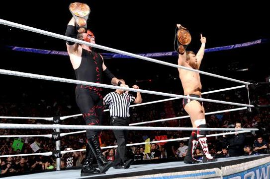 WWE Royal Rumble 2013 Results: Team Hell No Retains Tag Titles