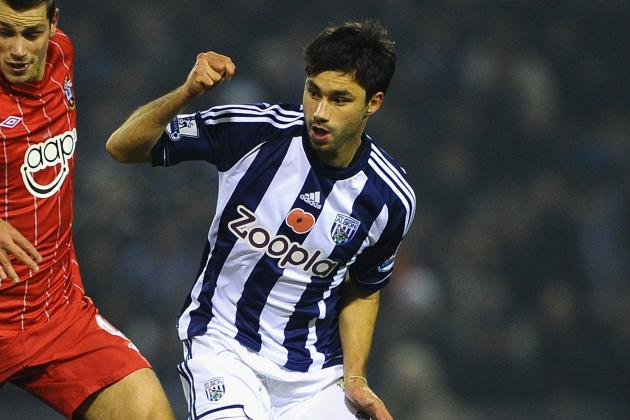 West Brom Await News of Midfielder Claudio Yacobs Shoulder Injury