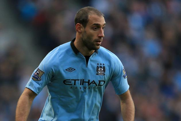 Manchester City Defender Pablo Zabaleta Expected to Face Stoke in FA Cup