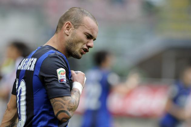Tottenham Transfer Target Wesley Sneijder Signs with Galatasaray