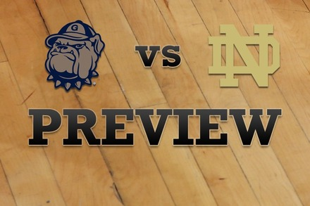 Georgetown vs. Notre Dame: Full Game Preview