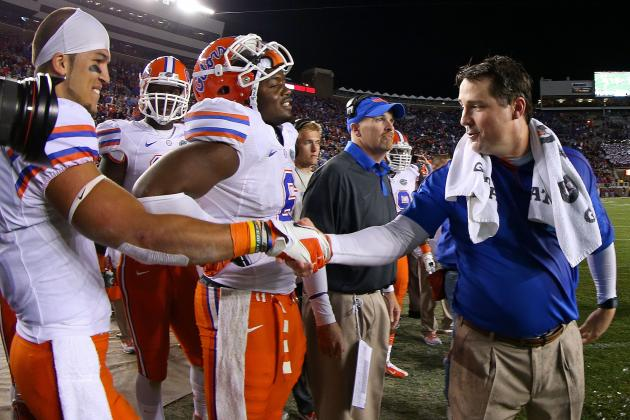 Florida Gators on Track to Have Top Football Recruiting
