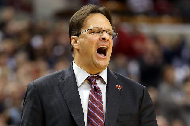 Hoosiers' Tom Crean Thrilled for His Harbaugh Brothers-in-Law