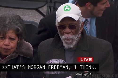 George Stephanopoulos Mistook Bill Russell for Morgan Freeman