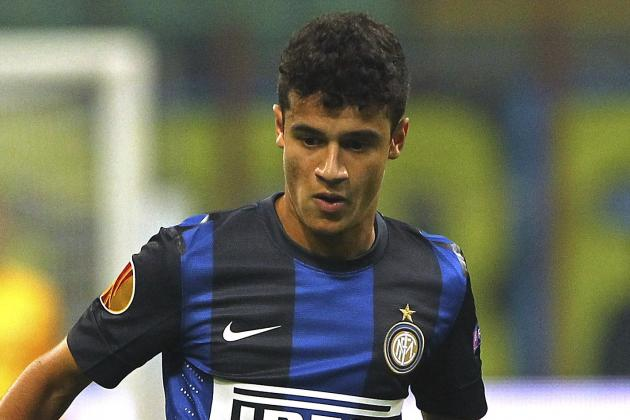 Inter Up Coutinho Price to €15m