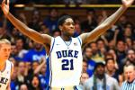 Duke Grabs Top Spot in This Week's AP Top 25