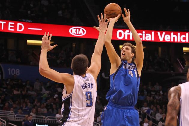 Mavericks' Dirk Nowitzki Was a Role Model for the Magic's Nik Vucevic