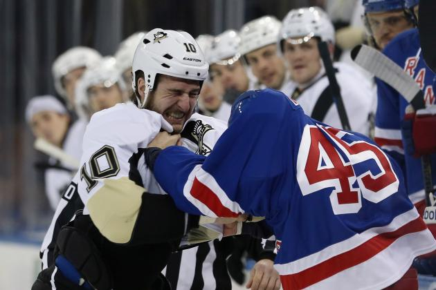 Asham Drops Gloves Fast in Rangers Debut
