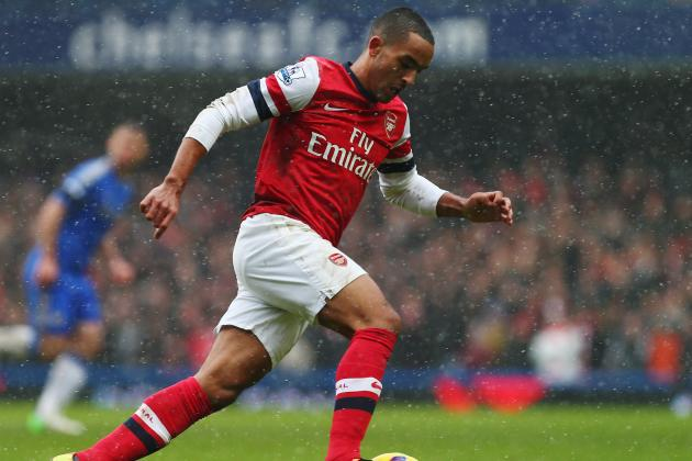 Theo Walcott Admits Arsenal Contract Situation Was Distracting