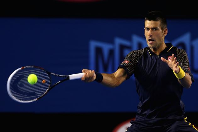 Novak Djokovic: World's No. 1 Has Clear Path to Australian Open Finals