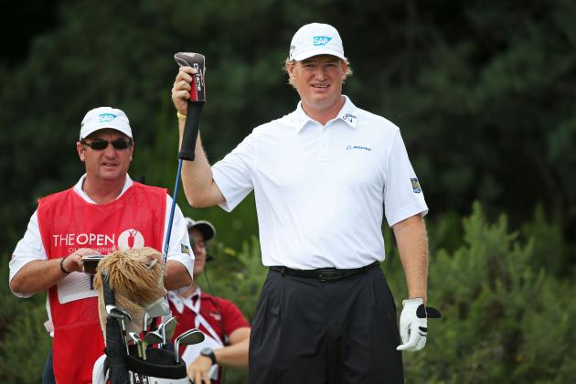 Ernie Els Starts Season with Substitute Caddie