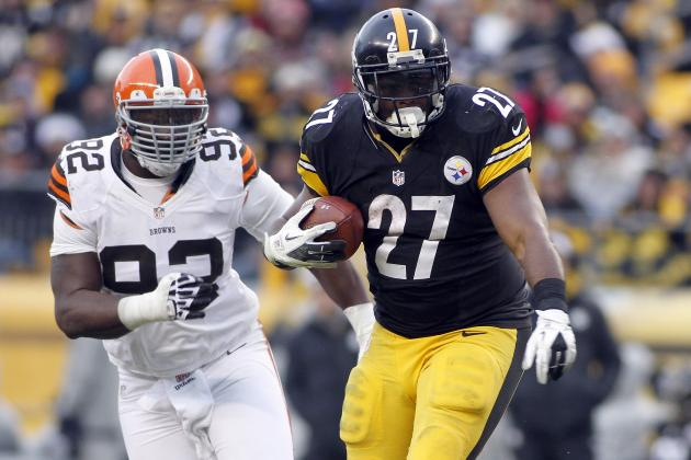 Steelers Sunday Spotlight: Running Back / Help Wanted