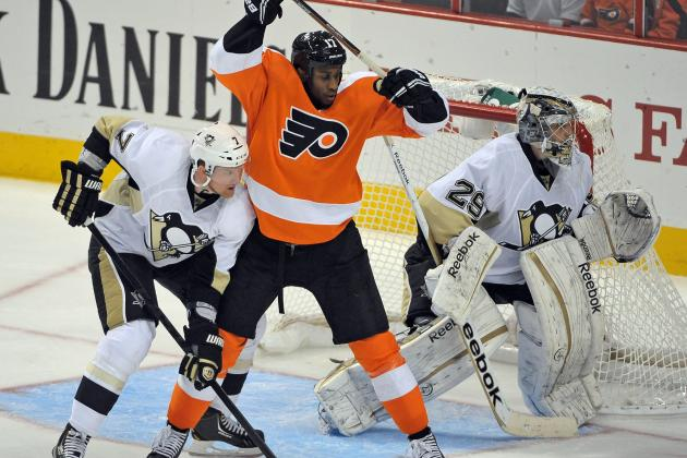 NHL Credits Pens Goal Against Flyers to Defenseman Martin
