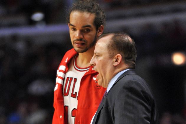 Bulls' Joakim Noah, Tom Thibodeau Iron Out Differences