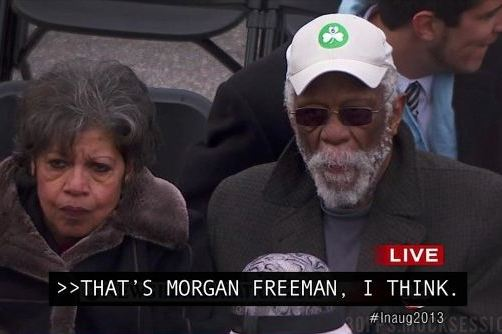 Bill Russell Mistaken For Morgan Freeman