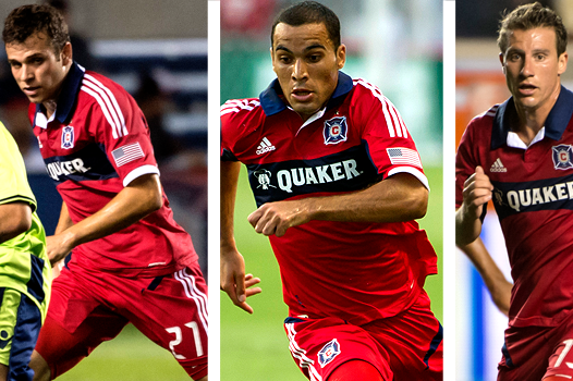 Three Fire Midfielders Return to Fold in 2013