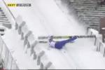 Worst Ski Jump Attempt EVER