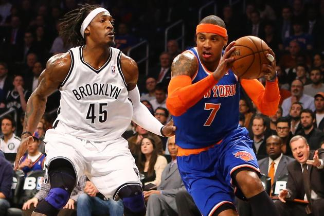 NBA Gamecast: Nets vs. Knicks