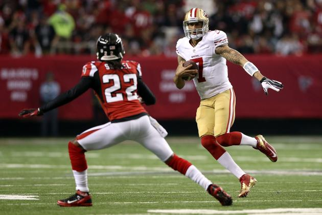 Colin Kaepernick: Baltimore Ravens Won't Have Answer to QB's Dual-Threat Ability