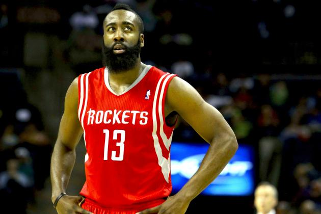 Houston Rockets vs. Charlotte Bobcats: Live Score, Results and Game Highlights