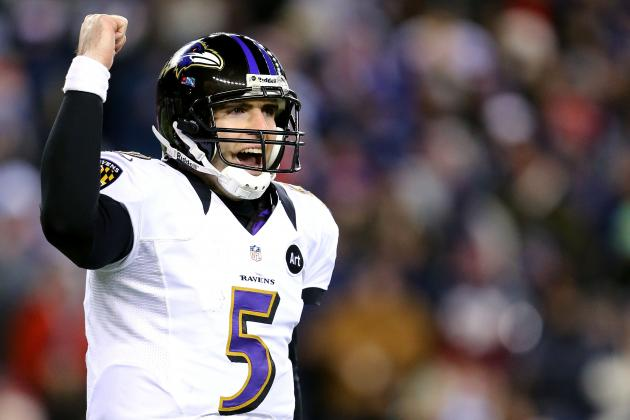 Baltimore Ravens: Joe Flacco Proves He Was the Better Pick over Matt Ryan