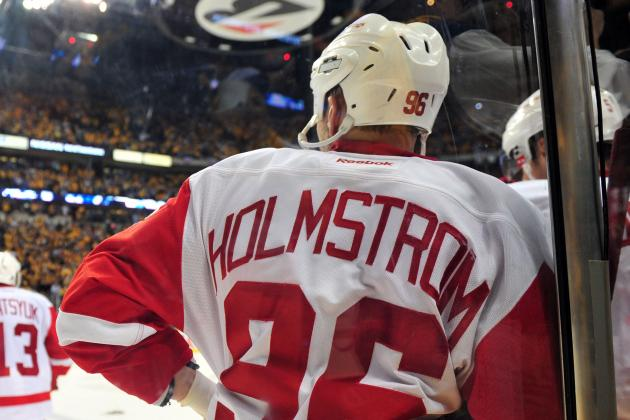 Teammates Able to Attend Tomas Holmstrom's Retirement Ceremony