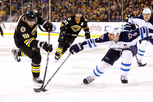 Rask, Bruins Edge Jets in Matinee Shootout