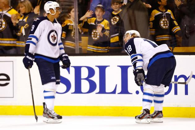 Winnipeg Jets Lose 2-1 to the Boston Bruins in a Shootout