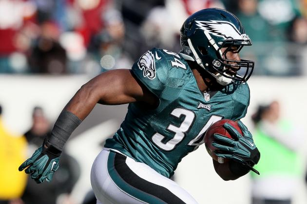 What is the True Value of Philadelphia Eagles RB Bryce Brown?
