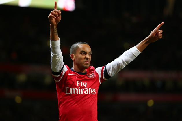 Walcott: This Has Been My Best Season