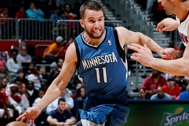 J.J. Barea Fined for 2nd Flopping Violation