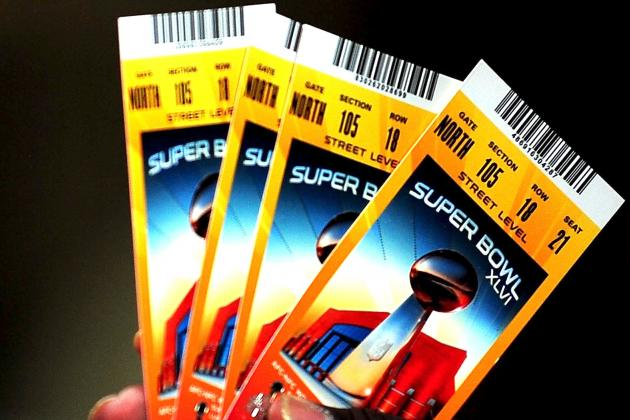 Tickets to See the Ravens and 49ers in the Super Bowl Are Ridiculously Expensive