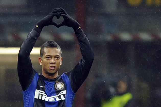 Wesley Sneijder: Fredy Guarin Will Ease Loss of Talented Dutchman