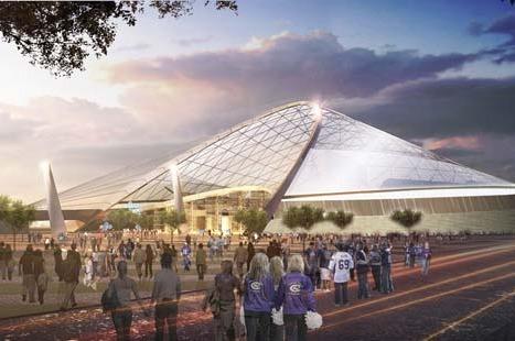 Vikings Stadium: Three Construction Firms Submit Bids