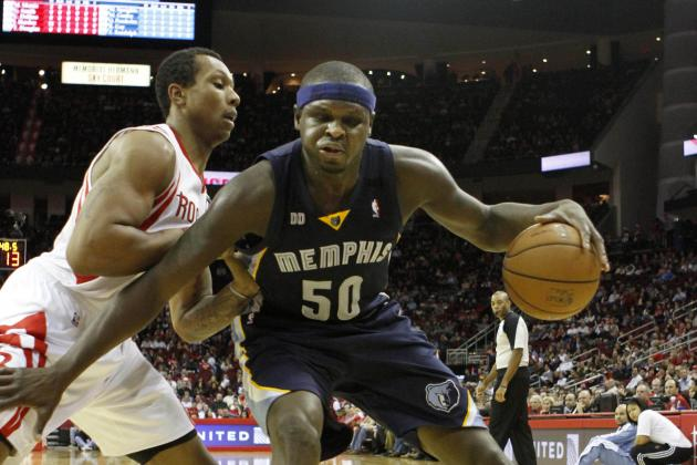 Zach Randolph Is the Post Presence James Harden and Jeremy Lin Need