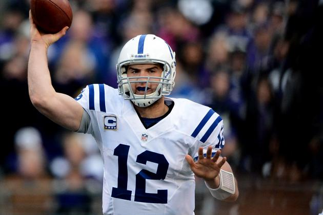 Andrew Luck Takes Tom Brady's Place in the Pro Bowl