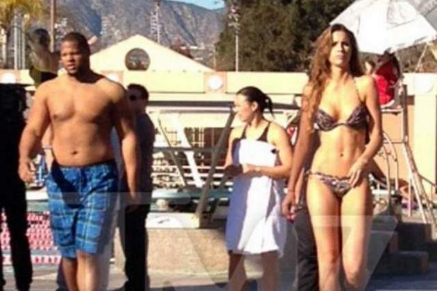 TMZ: Lions' Ndamukong Suh Costarring with Katherine Webb on New Reality Show