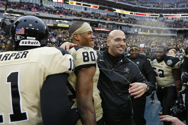 Vanderbilt Football: Commodores Loading Up on Tight Ends on Recruiting Trail