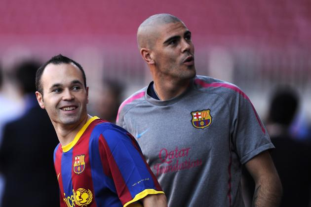 Iniesta: Valdés Is the Best in the World