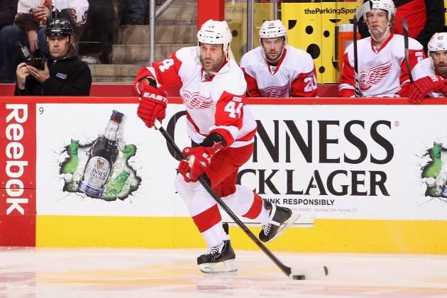 Detroit Red Wings: Todd Bertuzzi Doesn't Have Mono, Carlo Colaiacovo Injured