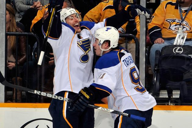 Blues Rally, Beat Preds in Shootout