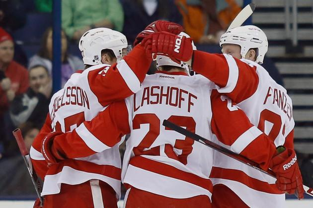 Wings Edge Jackets on Brunner's Shootout Goal