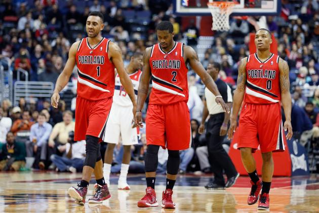 Wizards Hand Blazers Sixth Straight Loss on Crawford's Three-Pointer