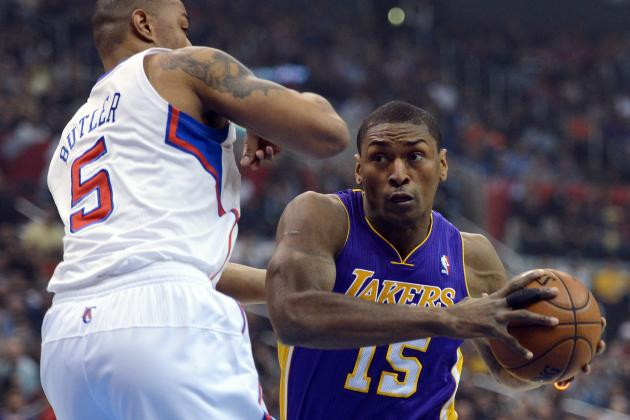 Metta World Peace Is Content to Stay with Lakers for Rest of Career