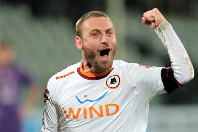 De Rossi Out for 15 Days